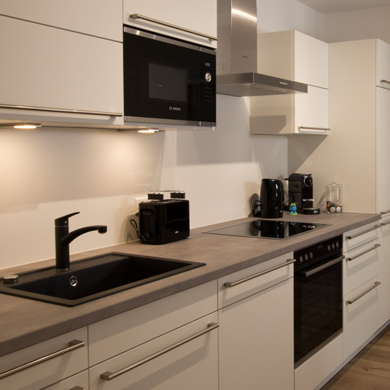 Küche komplett…